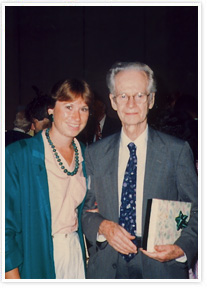 Dr. Fitch and B.F. Skinner at an ABA Conference