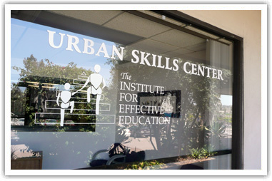 USC's business park location provides young adults the right location for skill and attitude development.